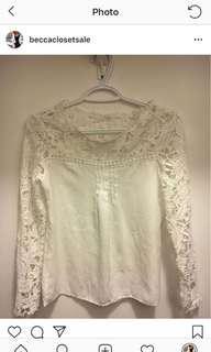 Zara Lace Long Sleeve
