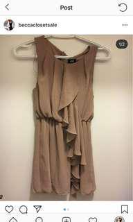 H&M Tan Dress