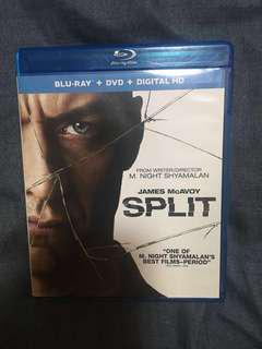 Split Blu ray disc