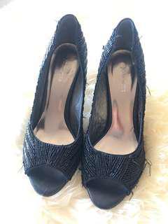 JO MERCER Ladies Beeded Shoes - Size 8
