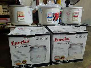 Eureka rice cooker 1.8L 10cups (without steamer)