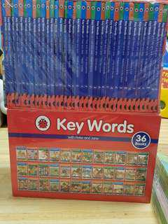 Key Words with Peter and Jane 36 books