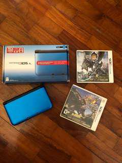 Nintendo 3DS XL with 2 games!