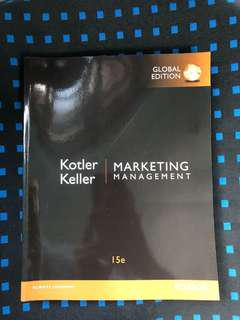 Marketing Management Textbook