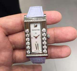 Authentic Swarovski Crystals Square Watch