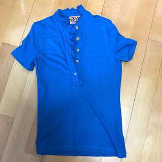 Tory Burch polo shirt Size S 100% Real 90% new