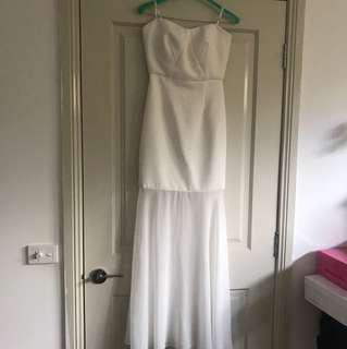 Wayne Cooper events dress gown white
