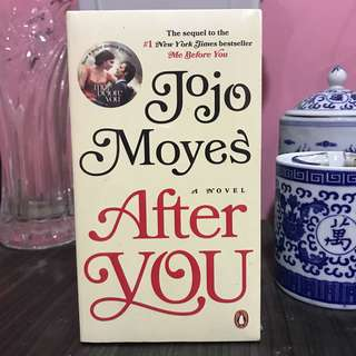 """Jojo Moyes """"After you"""""""