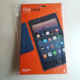 New Sealed Kindle Fire HD8 Tablet Red Colour