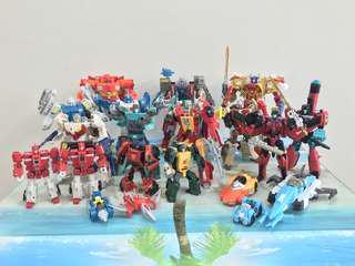 [51x Figures] Transformers Hasbro Takara Titans Return Lot