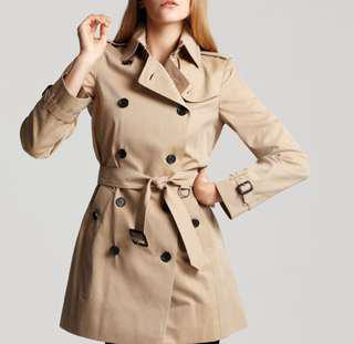 Zara beige trench coat