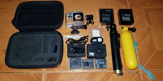 FS Xiaomi Yi Camera Black Series Fullset (Like New)