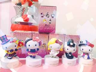 Hello Kitty Collectible Figures Set