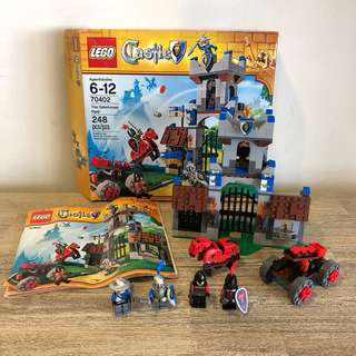 *Used* Lego 70402 Castle The Gatehouse Raid