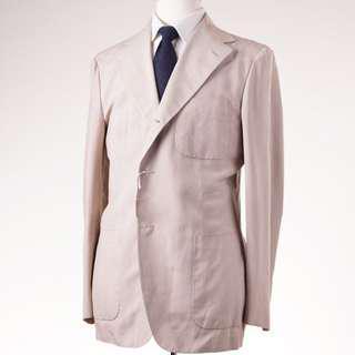 Silk D'Avenza blazer patch pockets 50R8 super high end kiton