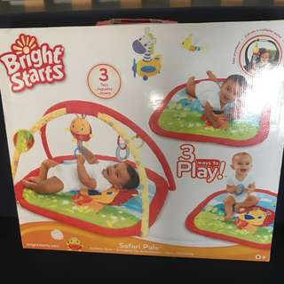 🚚 Baby Playmat Toy play gym for Tummy time
