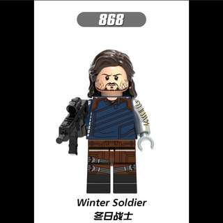 Lego Compatible Winter Soldier