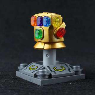 Lego Compatible Infinity Gauntlet Metallic