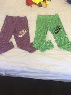 Nike gym tights