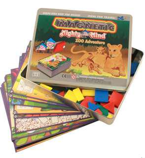 MightyMinds Magnetic - Zoo Adventure