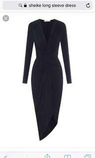 Sheike navy altitude dress