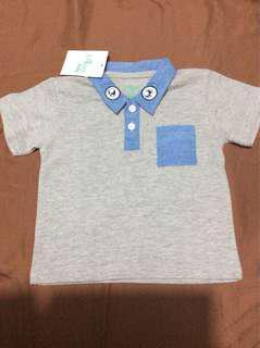 Baby boy polo shirt (free shipping)