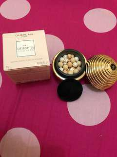 SALE guerlain meteorites pearl gold powder new(no nego) counter 1,2jt