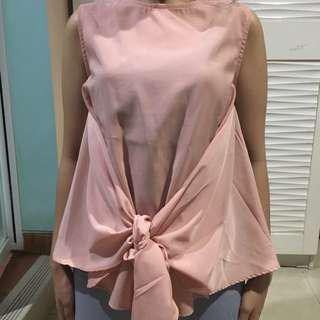 Pink Nude Blouse