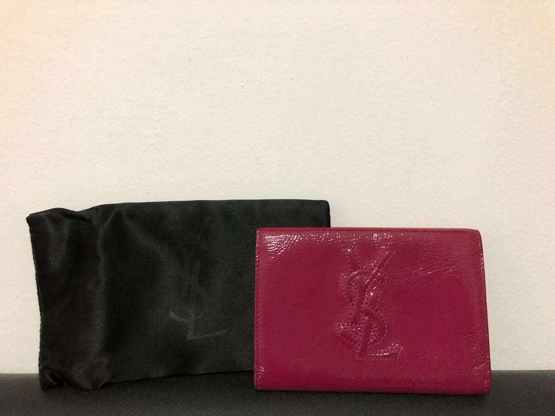 e8f5711e0cf 100% authentic Saint laurent (ysl) small card holder/wallet, Luxury ...