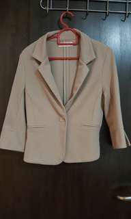 Light brown blazer