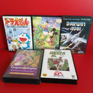 Original Sega Megadrive Games