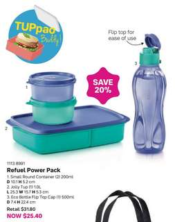 Tupperware lunch set, bpa free wAterbottle bottle soup container lunch box with divider