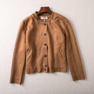 Suede Fringe Jacket #50under