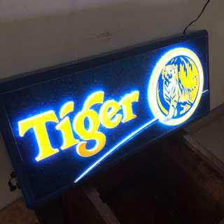 Tiger lightbox