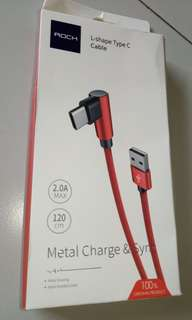 Brand New L Shape USB Type C Cable