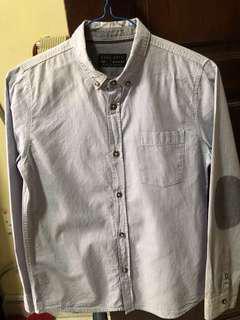 Cheap ZARA Boys Long Sleeve Checkered 140cm