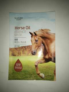 Horse oil essence mask