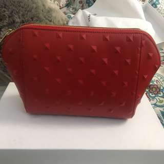 Snanlan Theodore - red clutch bag