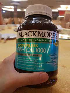 Blackmores Fish Oil 1000mg Odourless XL SIZE 400 CAPSULE