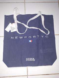 NEW ! cotton on tote bag