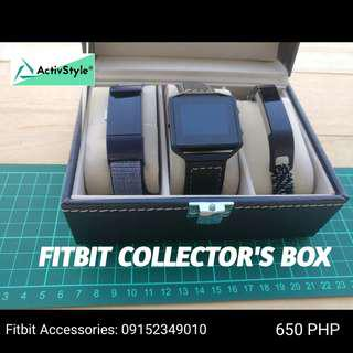 Collector's box for our Fitbits,
