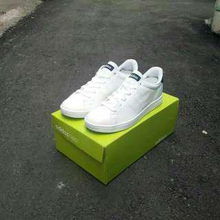 Adidas neo advantage clean original white black