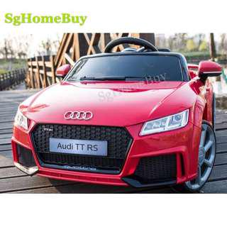 Instock - new Audi TT kids electric car with rocking function