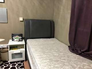 Single Bed (dark grey)