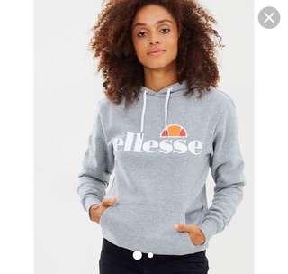 Grey ellesse hoodie