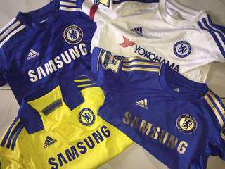 Chelsea Samsung Football Soccer Kits
