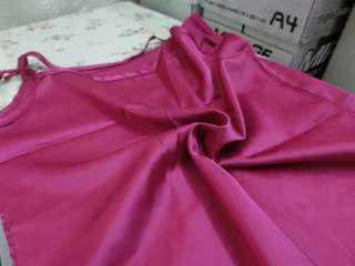 Pink Top Satin