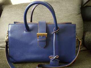 Authentic Samantha Vega Blue Bag with Sling