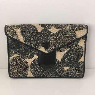 Authentic YSL Fingerprint Clutch