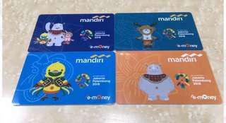 Emoney Mandiri X asian games